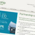 cant pay john lewis partnership credit card